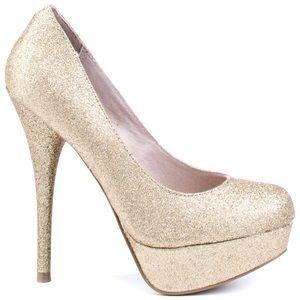 3908101a3f62 Steve Madden Shoes - Steve Madden Glitter Heels